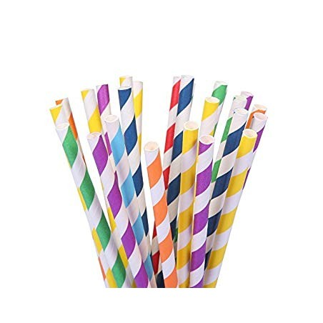 Paper Straws Ecological 250 pack