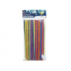 Flexi Straws 100 pack