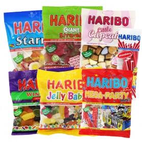 Haribro Sweets 100g bags (box 12)