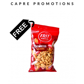 Free salted peanuts when you buy crisps