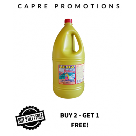 Bleach 5 litres  (buy 2 get 1 free)