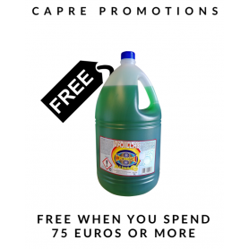 Free Washing Up Liquid 5L on orders + 75€