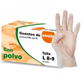 Vinyl Gloves box 100 (out of stock)