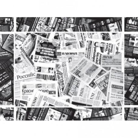 Place Mats Newspaper white x 500