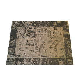 Place Mats Newspaper Brown x 500