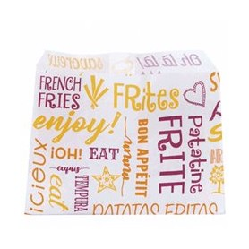 French Fries Bags 9x12 Greaseproof