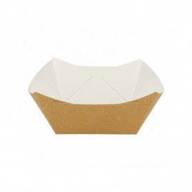 Brown Food Trays Small pack 200