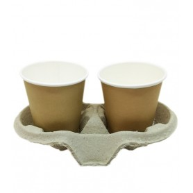 Cup Holder Two Cups 25 pack